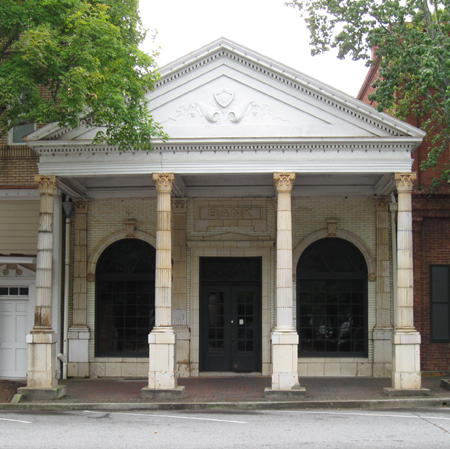 Photo of Morgan County Bank, Madison, Georgia